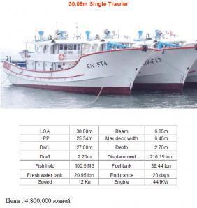 Водный транспорт, Рыболовные суда