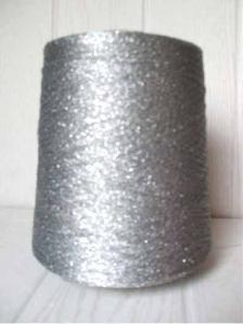 Нить вязальная серебрянная (люрекс) (Фото)