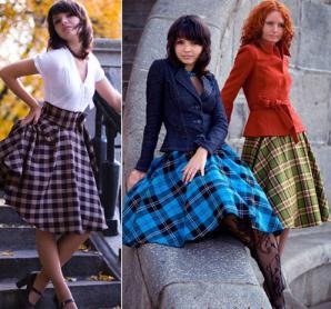 Пошив пышных платье в ресто стиле 50х- 60-х годов.  Индивидуальный пошив женской одежды на дому.